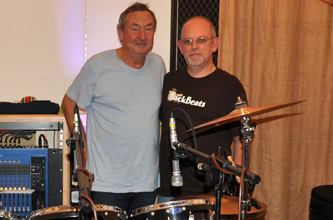 Nick Mason & Graham Collins - October 2012