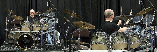 Graham Collins Soundchecks The Pink Floyd DW Drum Kit