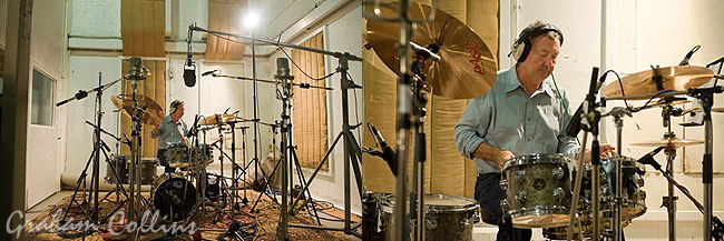 Nick Mason DW Drums Children In Need Single 2009