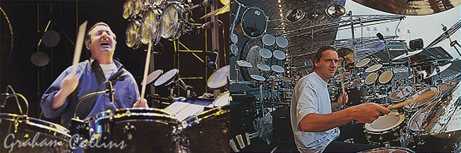 Nick Mason And Gary Wallis The Division Bell Tour 1994
