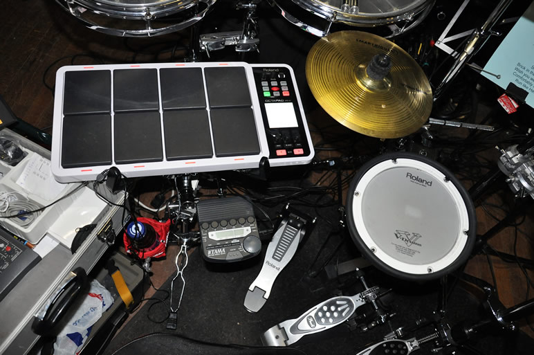 Roland Smartrigger Electronic Percussion Kit Used With The Pink Floyd Tribute - Time To Breathe